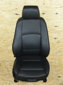 Bmw E92 Front Right Passenger Side Electric Sport Seat Chair Complete Black Oem