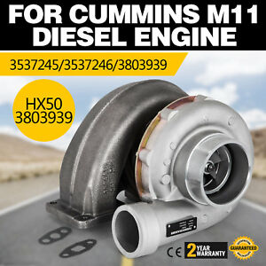 Hq Hx50 3803939 Diesel Turbocharger For Cummins M11 Diesel Engine Holset Look
