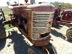 Farmall M Tractor Front Grill