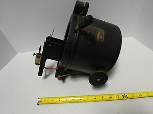 Antique Carl Zeiss Germany Microscope Part Carbon Lamp Optics tc 2 a