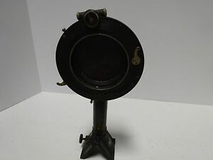 Antique Carl Zeiss Germany Microscope Shutter Part Optics tc 2 a