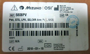 Mizuho Osi 5808pv Spinal Surgery Top Patient Care Kit case Of 6