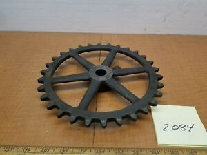 Barnes Lathe 1880s Vintage 41 2 Pedal Shaft Chain Sprocket Mint Antique Cond