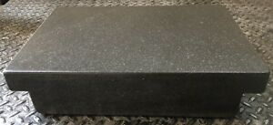 Granite Inspection Surface Plate 18 X 12 X 4 Laboratory Industrial B