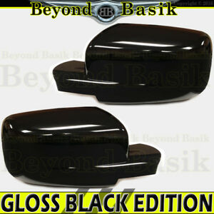 For 2009 2018 Dodge Ram 1500 Gloss Black Mirror Covers Non Towing W O Signal Hl
