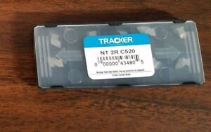 Nt 2r C2 Tracker Uncoated Solid Carbide Threading Inserts 5pks Of 10pcs Lot