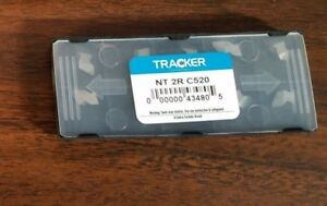 Nt 2r C2 Tracker Uncoated Solid Carbide Threading Inserts 10pcs New