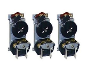 3 Vendo black Disk Vending Machine Motors Fits 407 450 475