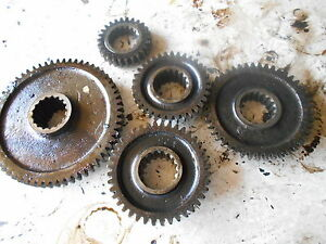 Farmall 300 Tractor Lower Gears And Shaft