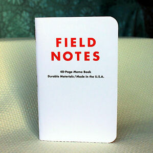 Field Notes Brand White Ted Portland Edition Notebook