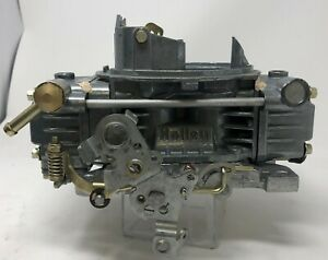 Holley Carburetor 600 Cfm Electric Choke 80457 s Shiny Finish Remanufactured