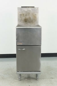 Used Pitco 35c s 35 40 Lb Gas Fryer