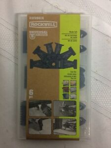 Categories Rw8981k Sonicrafter End Cut Blades With Universal Fit System 6 pack