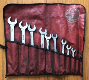 Mac Tools No Scw11k 12 Pt Sae Combination Wrench Set 1 4 7 8 Missing 1