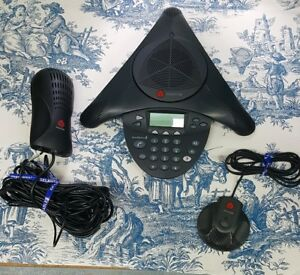 Polycom Soundstation2 Expandable Display Conference Phone 2201 16200 601 W power
