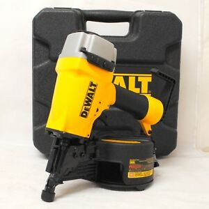 New Dewalt Dw66c 1 Pneumatic 15 Degree Coil Siding And Fencing Nailer
