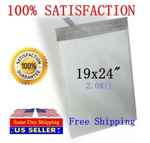 19x24 Poly Mailers Self Sealing Shipping Envelopes Mailing Bags st Shipmailers