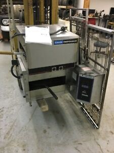 Used Lincoln Impinger Dtf Dual tech Finisher Electric Conveyor Oven Double 1960