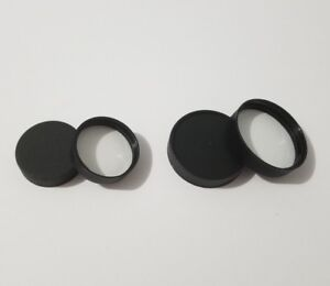 Black Plastic Screw On Bottle Caps With Ps22 Pressure Sensitive Liners