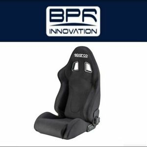 Sparco Black red R600 Series Stress Seat 00968nrrs