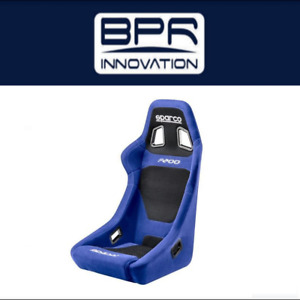 Sparco Blue And Black F200 Racing Seat 00917az