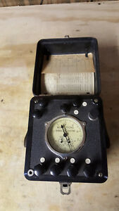 Vintage General Electric Type 1b 9 Portable Watthour Meter Standard Test Unit