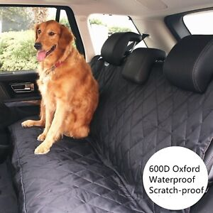 Pet Dog Waterproof Back Rear Seat Bench Mat Cover For Trucks auto suvs vans Car