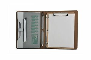 Smart 3 Ring Binder Portfolio Case With Clipboard For Organizing Loose Docume