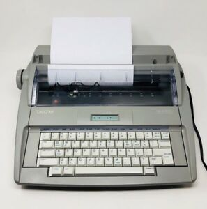 Brother Typewriter Sx 4000 Electronic Daisy Wheel Portable Home Office Typing