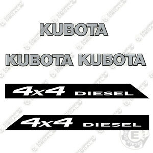 Kubota 4x4 Rtv 900 Xt Utility Vehicles Replacement Decals
