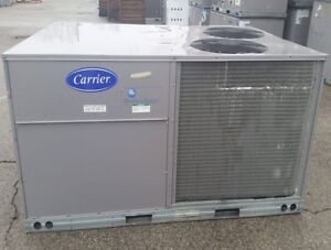 Carrier Commercial Grade 7 5 Ton A c Package Unit 460v 3 Ph