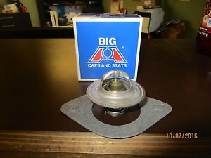 64 84 Chevy 6 Cylinder 195 Degree Thermostat With Gasket 230 250 292 Car Truck
