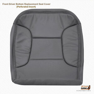 1995 Ford Bronco Eddie Bauer driver Bottom Replacement Leather Dark Gray Cover