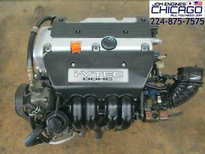 Jdm 02 05 Honda Civic Si 02 06 Acura Rsx K20a Base K20a3 2 0l Dohc Engine