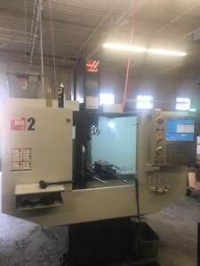 Used Haas Mini Mill 2 Cnc Vertical Machining Center Mill 20x16 Milling Ct 2015