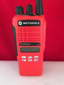 Refurbished Motorola Ht1250 Ls Uhf 403 470 Radio Refurbished With Charger