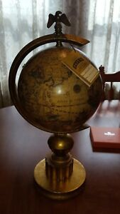 Vintage World Globe Pauls Lamps W Tags