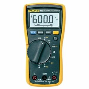 Multi Testers Fluke 115 Compact True rms Digital Multimeter Nist traceable Data