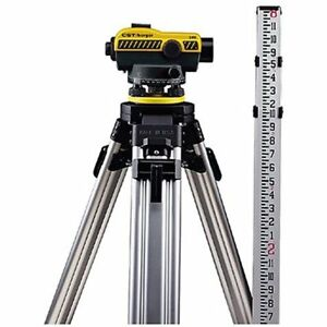 Levels Cst berger 55 slvp24nd 24x Automatic Optical Kit Tripod Rod Carrying