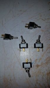 Lot Of 5 Eaton Cutler hammer Toggle Switch 9046