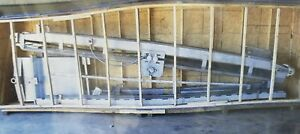 Sweco Stainless Steel 19 X 18 Incline Conveyor With Belt
