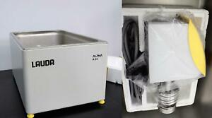 New Lauda Alpha A24 Circulating Stainless Steel Heating Water Bath