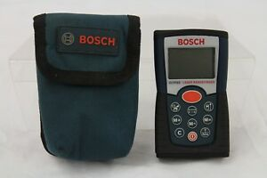 Bosch Dlr165 Laser Rangefinder With Soft Canvas Case