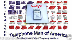 Avaya Ip Office 500 V2 Mu law Sd Card 700479710 202960 205650 4 Network Licenses