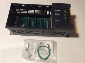 Ge Fanuc Series One Programmable Controller Rack With Hi Cap Power Supply 5