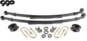 1970 1981 Chevy Camaro Stock Height Complete Narrow Leaf Spring Upgrade Kit