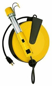 Bayco Sl 825 13 watt Fluorescent Work Light With 40 feet Cord Reel
