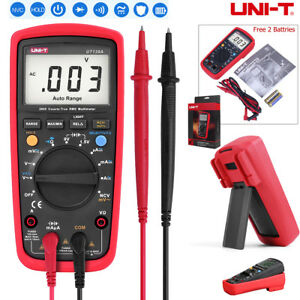 Ut139a Digital True Rms Multimeter Ac dc Voltage Auto Range Tester Meter Ohm Us
