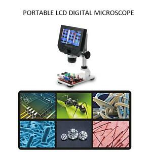 600x 4 3 Lcd Display Electronic Digital Microscope For Mobile Phone Repair E8e8