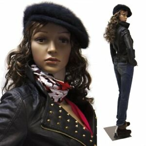 Realistic Standing Female 33 24 34 Mannequin Base 2 Free Wigs F 11 2